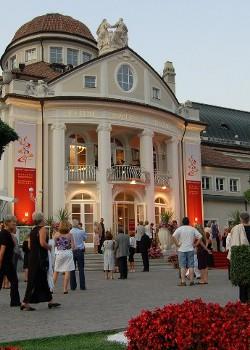 La sede del Merano1 Wine Festival