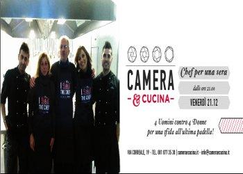 Quattro uomini e quattro donne si sfidano al Camera&Cucina