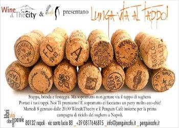A Napoli, un Brindisi Ecosostenibile riciclando i Tappi di Sughero