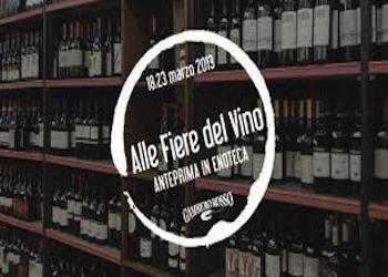 """""""Alle Fiere del Vino.Anteprima in Enoteca"""", il nuovo format di Gambero Rosso"""
