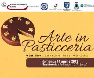 Arte in Pasticceria: si sfidano i migliori pasticcieri della provincia di Salerno