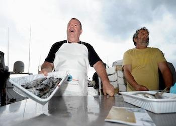 Il buon pescato locale con i pescatori di San Marco di Castellabate