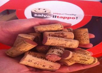 """Oltre 5000 i tappi di sughero raccolti attraverso l'iniziativa """"Salva il tappo!"""" di Wine&Thecity"""