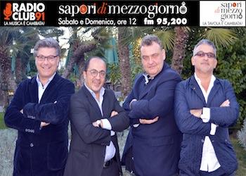 Tanto vino e Provolone del Monaco per Sapori di Mezzogiorno a RadioClub 91