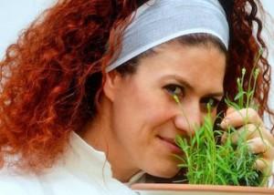 Imma Gargiulo a Ikea per un cooking show