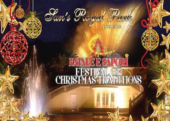 Il Programma completo di Natale e Sapori Festival of Christmas Traditions