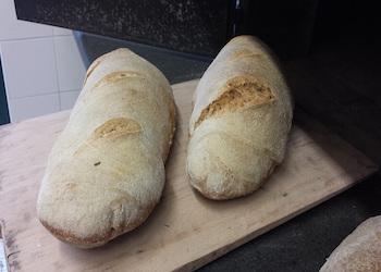 Il Pane solidale  senza camorra con la Pizzeria Di Matteo e L'Associazione Report