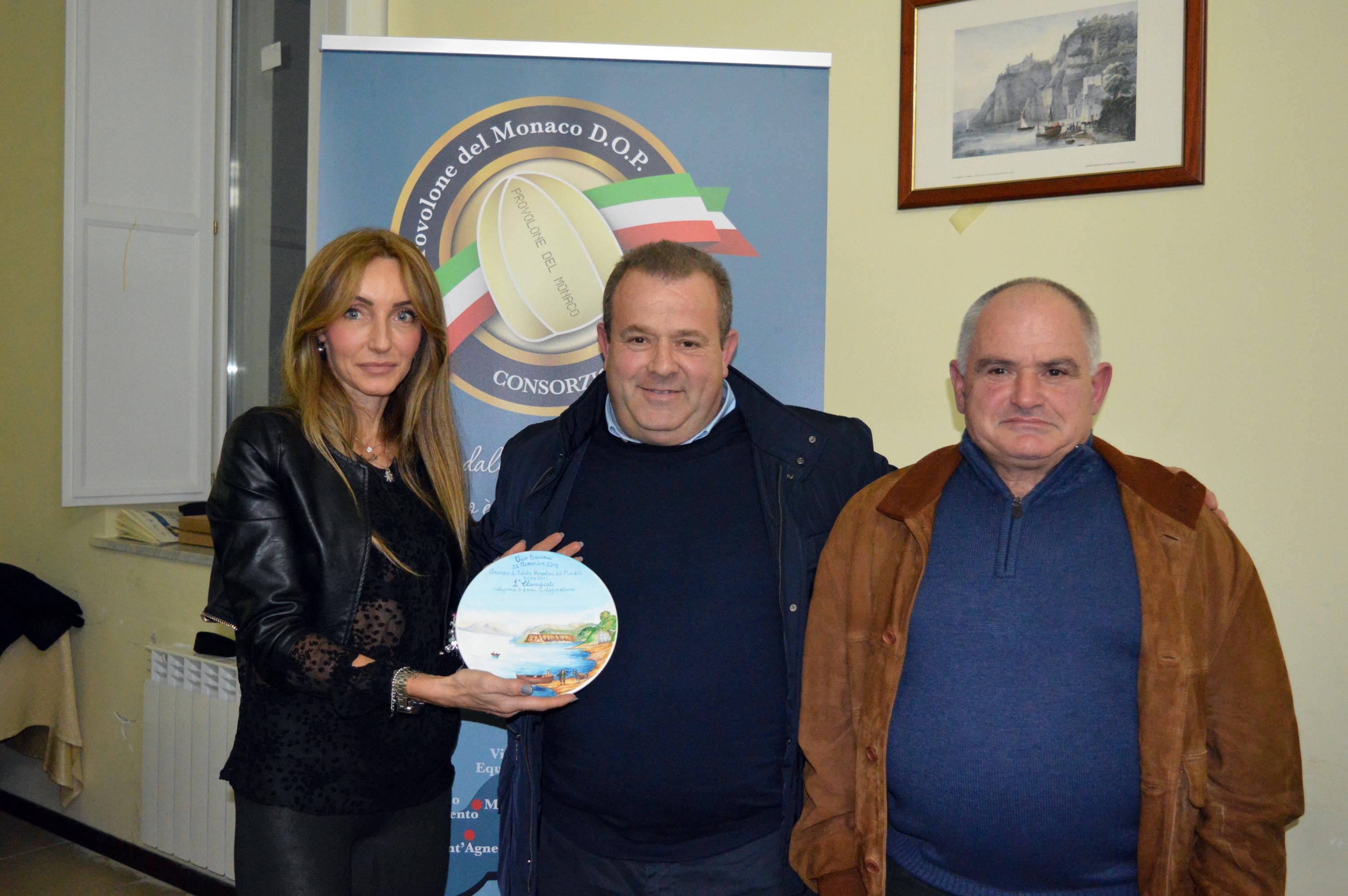 I Premi ai caseifici del provolone del Monaco dop