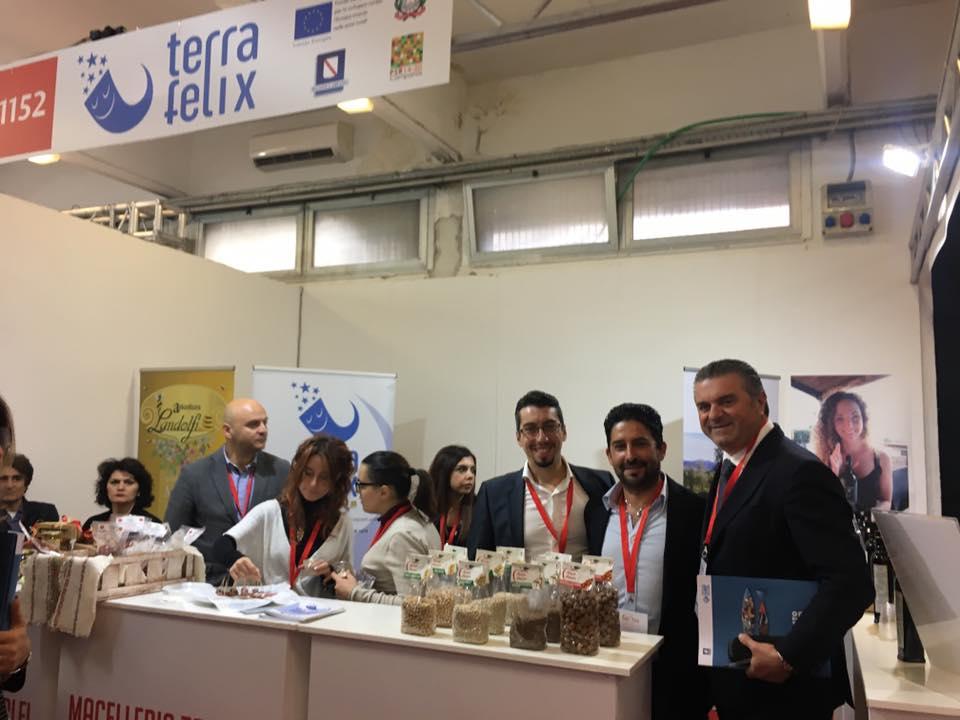 Dopo Gustus Terra Felix è alla Mostra mercato dell'agroalimentare e dell'artigianato della provincia di Caserta
