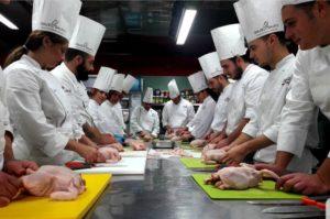Dolce & Salato,  allievi durante un corso di formazione.