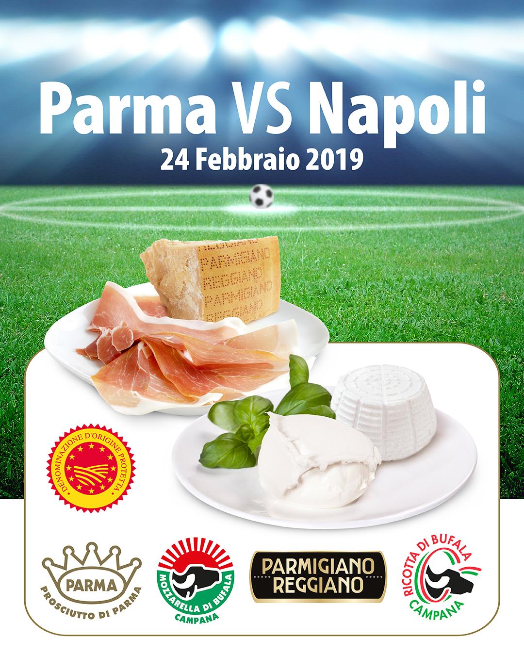 Parma-Napoli, al Tardini anche una sfida di gusto