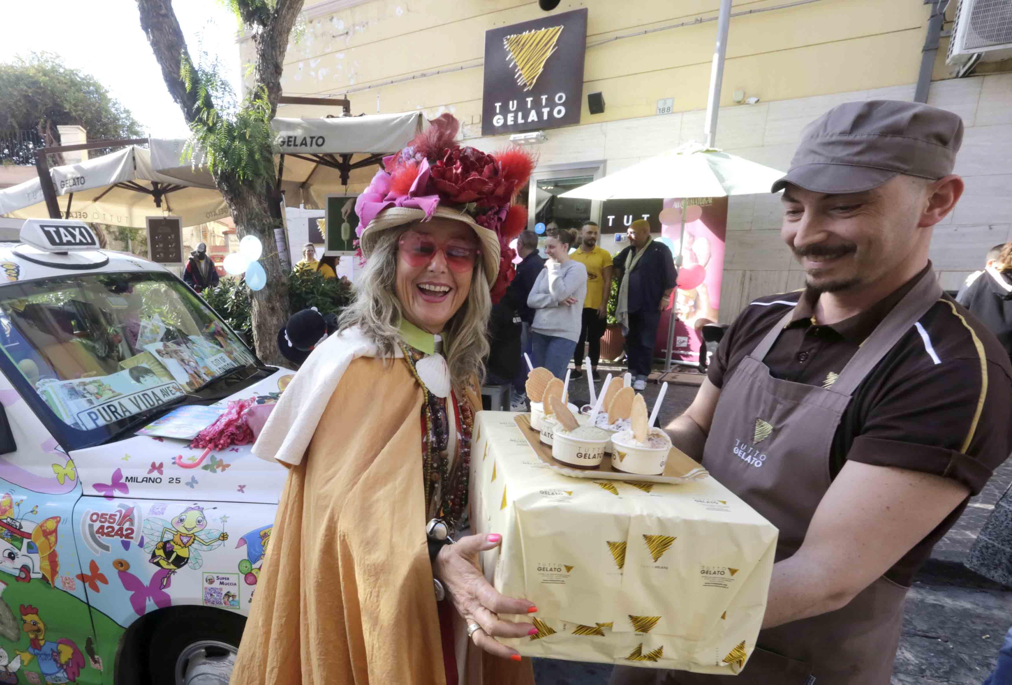 Il gelato solidale di Zia Caterina a San Giorgio a Cremano
