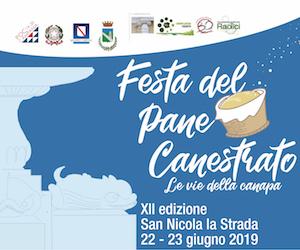 Festa del pane canestrato - san nicola la strada 22-23 giugno 2019