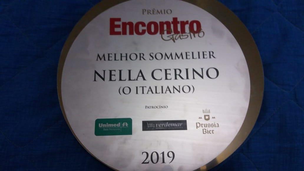 Sommelier in Brasile, premio Encontro alla campana Nella Cerino