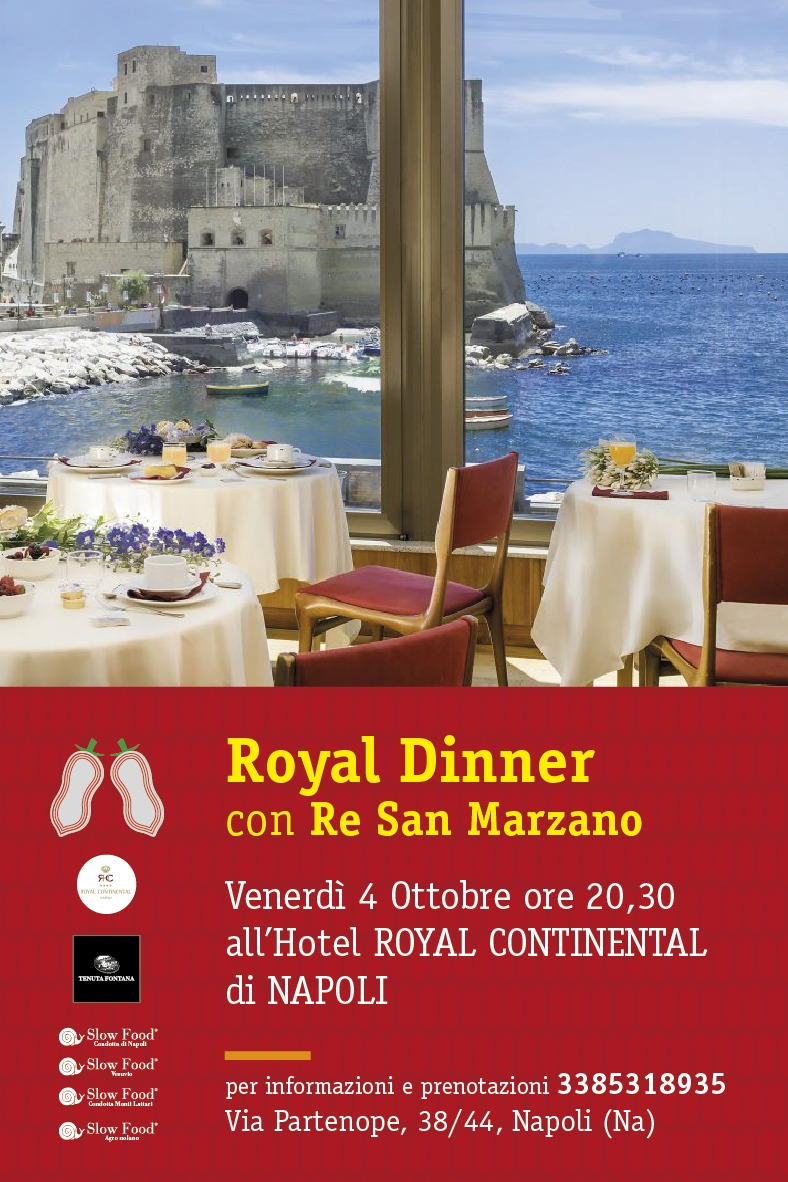 Royal Dinner, cena con Re San Marzano