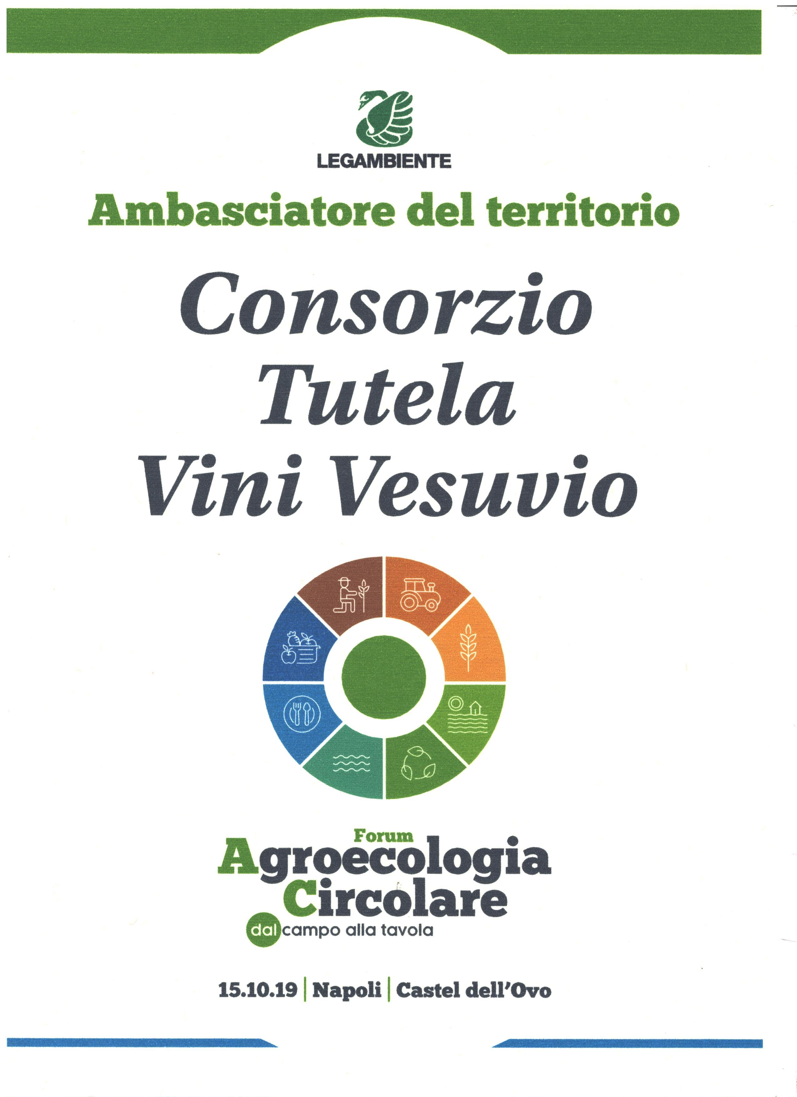 Consorzio tutela Vini del Vesuvio ambasciatore del territorio Legambiente