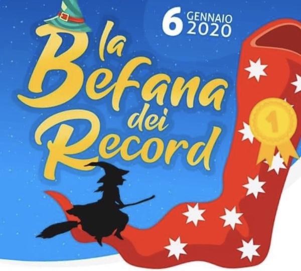 Pietramelara sfida Viterbo per la Calza della Befana più lunga del mondo,ecco l'evento