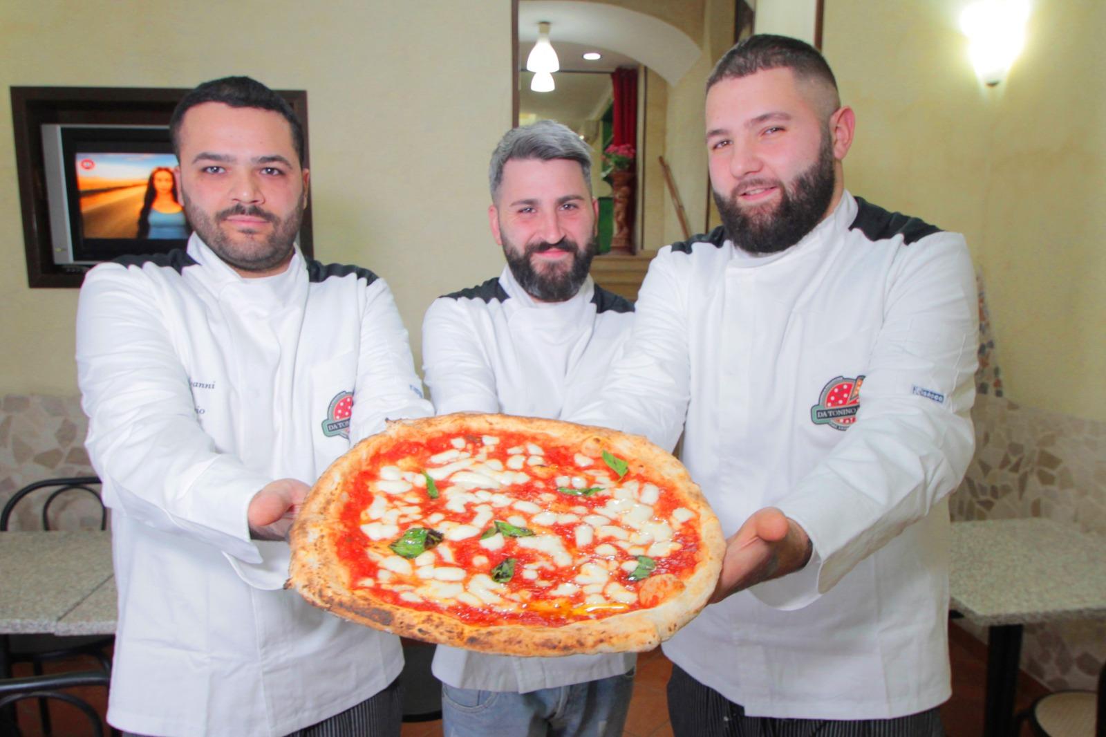 A San Giorgio a Cremano il progetto di rielaborazione delle pizza napoletana con la tradizione dei fratelli Salvo