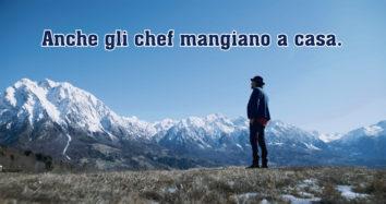 Anche gli chef mangiano a casa, il nuovo format tv Bergader su La7