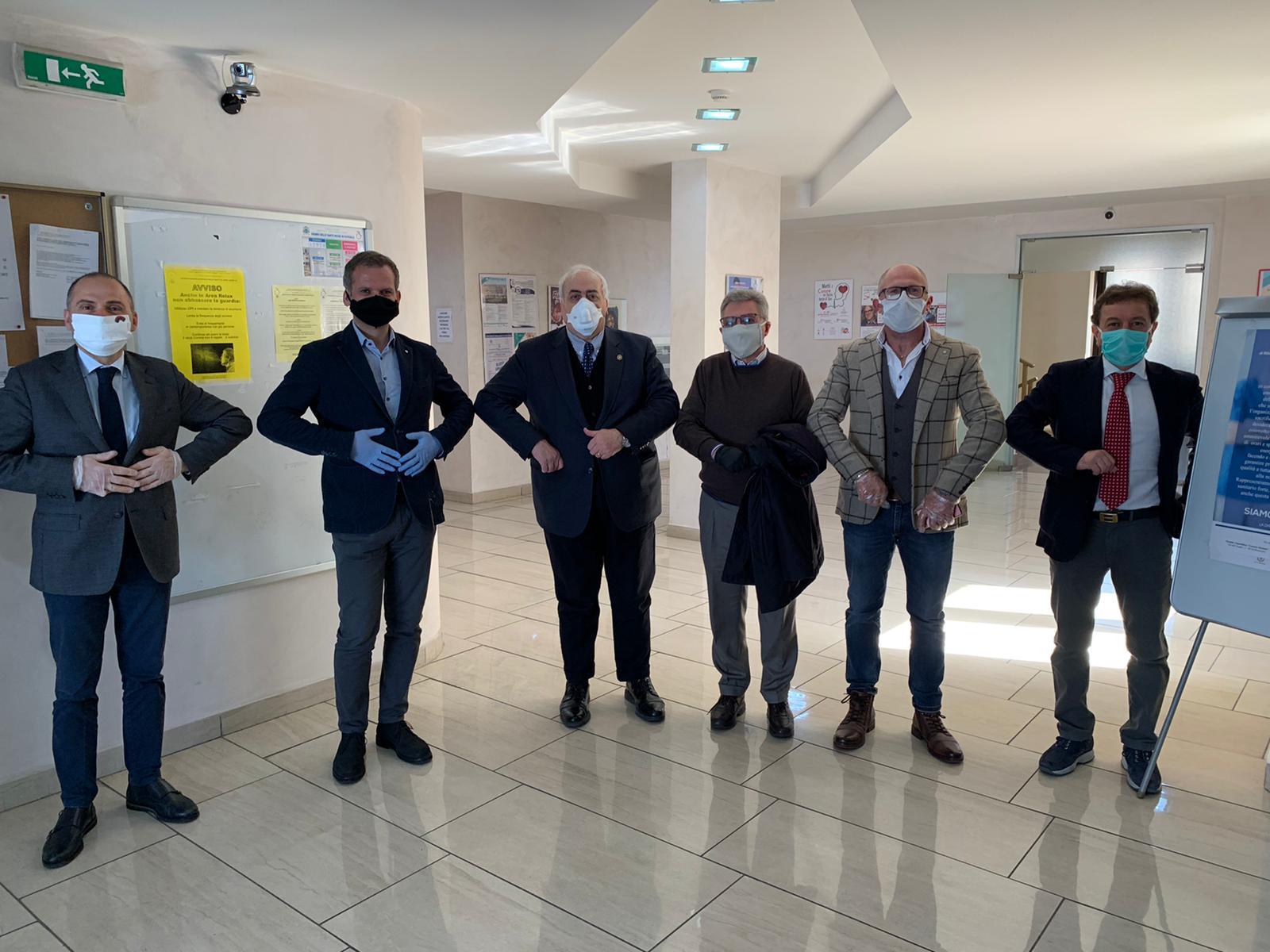I vignaioli di Sannio dop per l'Ospedale San Pio di Benevento
