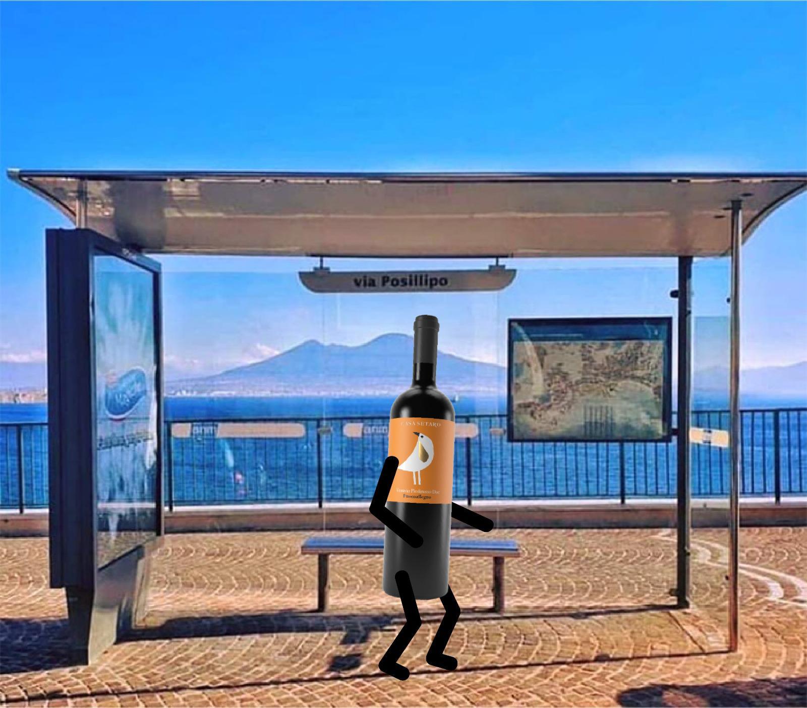 #Bottiglieapiedi, splendida iniziativa di Casa Setaro