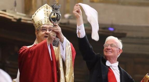 Domani 2 Maggio Miracolo di San Gennaro in diretta dal Duomo su Canale21