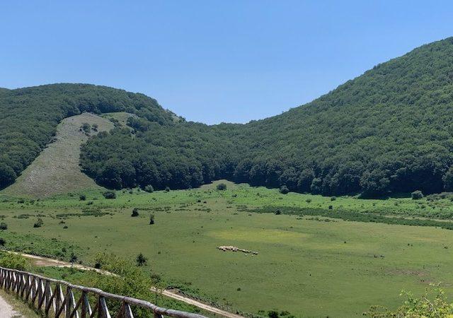 Sul  Camposauro,  buona ed attiva montagna del Sannio