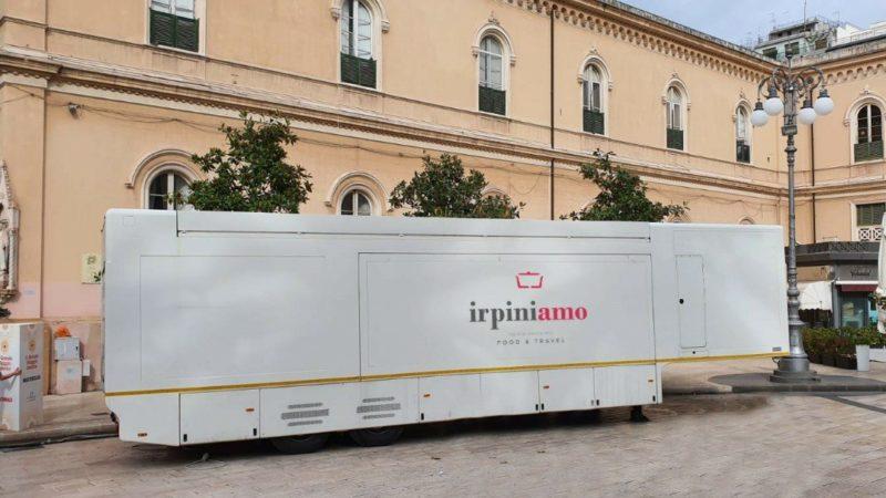 Irpiniamo, il ristorante mobile fa tappa a Paternopoli con Cantine Famiglietti