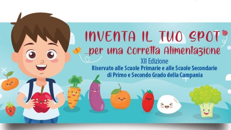 Inventa il tuo spot sulla corretta alimentazione, il concorso della Regione per le scuole campane