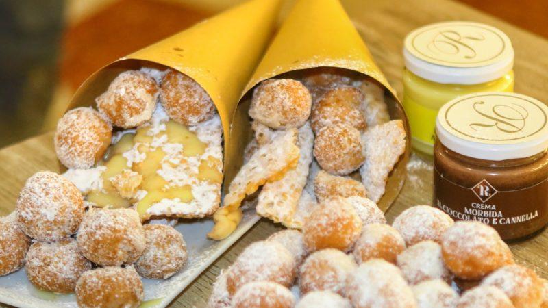 A Carnevale ogni cuoppo vale, il Gran Caffè Romano tra chiacchiere, castagnole e sfinci