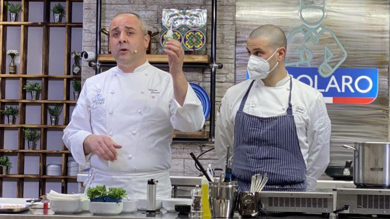 Stellati per la Dad con  gli Alberghieri, chiude  lo chef Vincenzo Guarino