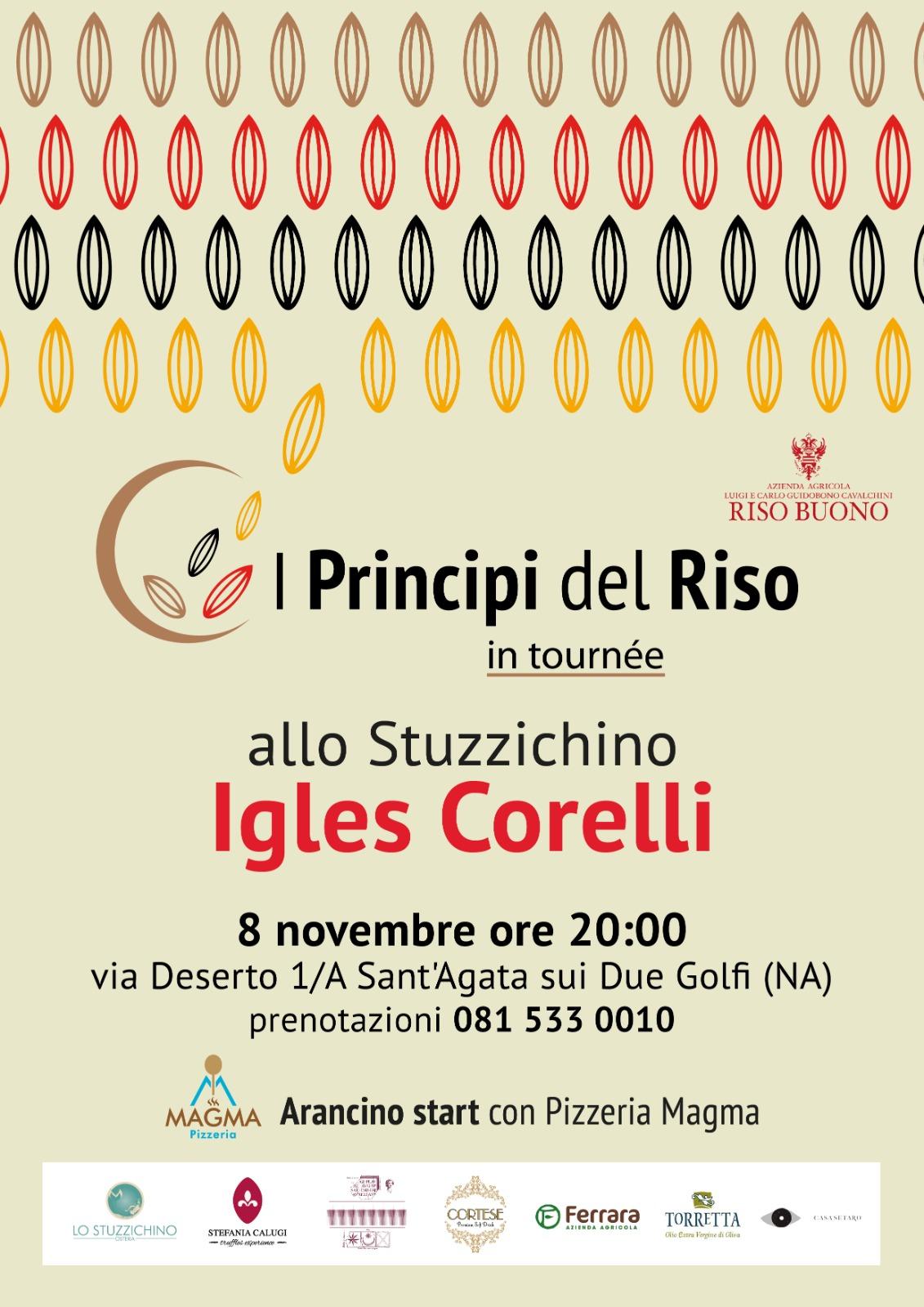 I Principi del Riso in tournée in Campania