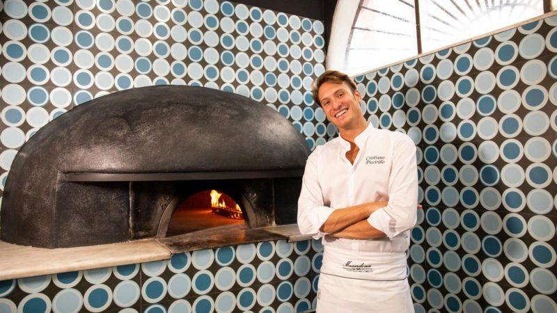 La Masardona invade Roma con la pizza fritta
