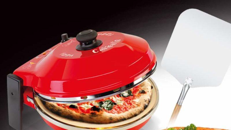 Pizza tonda a casa? Ecco il fornetto per pizza Spice Caliente con pietra refrattaria