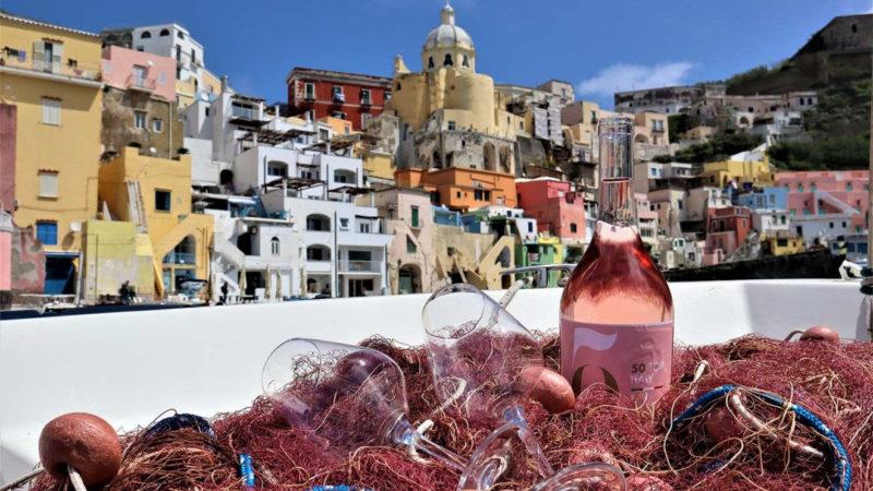A 50 Top Rosè Casa Setaro alfiere  dei colori vesuviani  con Munazei rosato