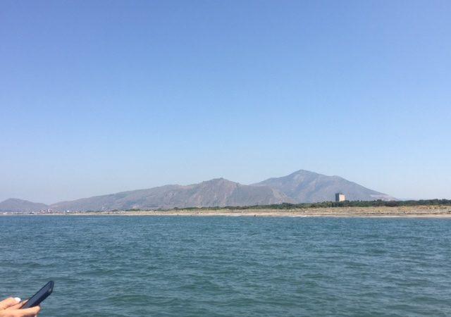 Affinamento subacqueo nel mare di Mondragone per l'Elixir Falernum