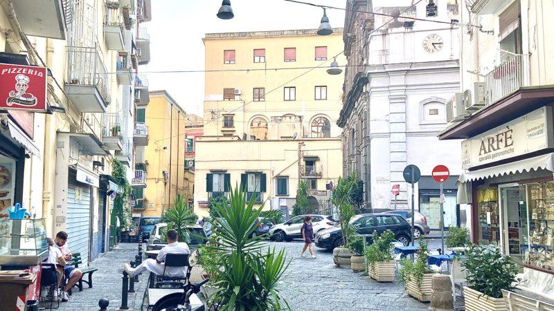 Santa Maria in Portico a Napoli, arte e food  con le Botteghe del Gusto d'Eccellenza