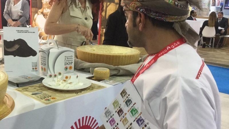 Mozzarella Dop all'Expo di Dubai e a Colonia